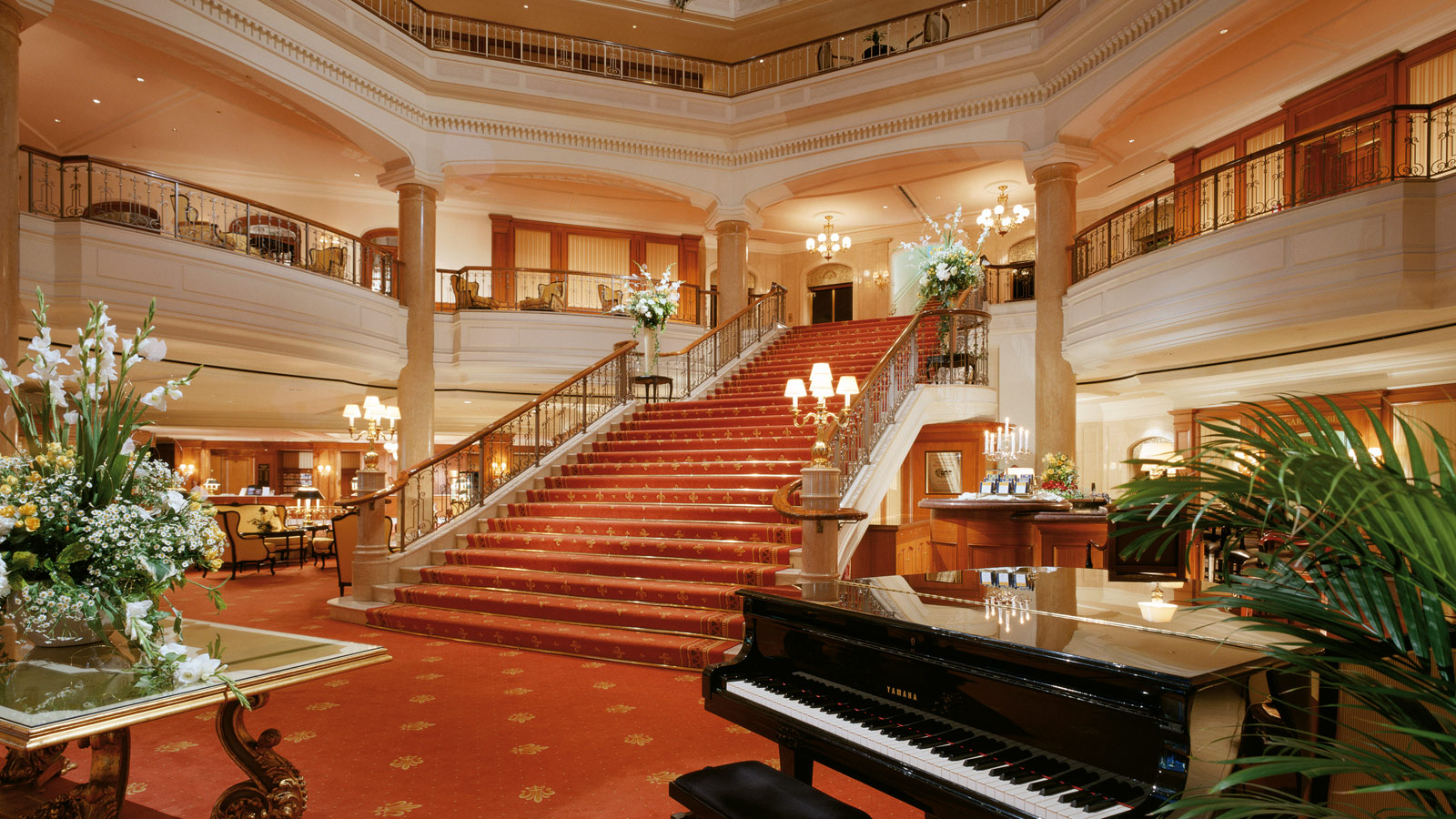 Former staircase of The Westin Grand hotel Berlin