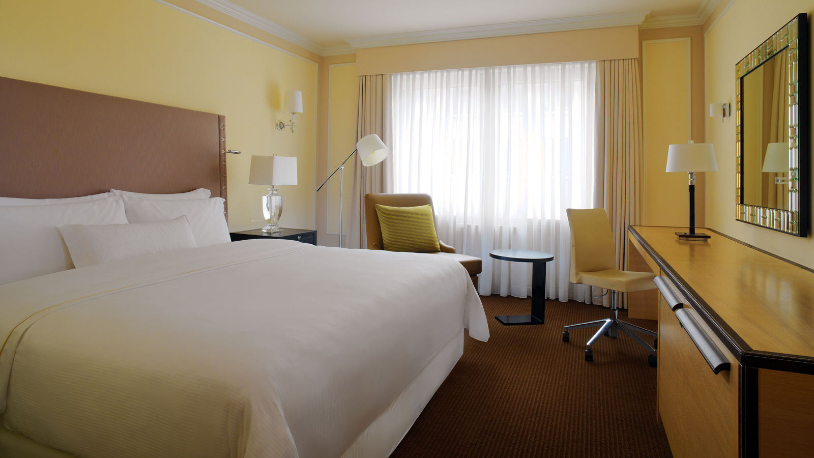 Deluxe room at The Westin Grand hotel Berlin