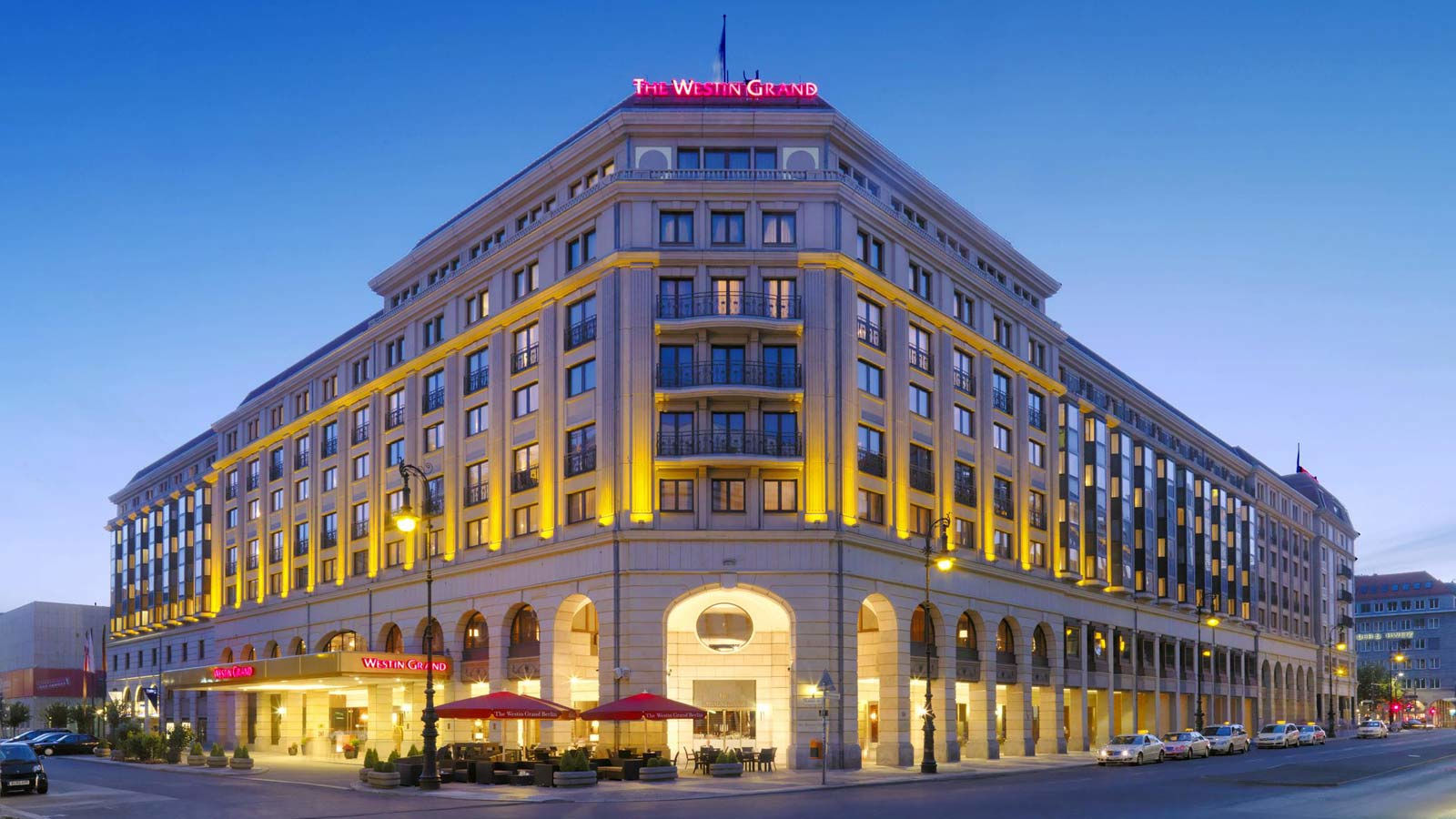 Aussenansicht des The Westin Grand Hotel Berlin