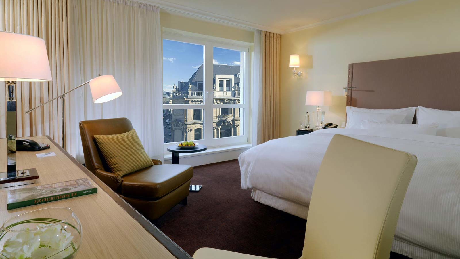Linden Superior room at The Westin Grand hotel Berlin