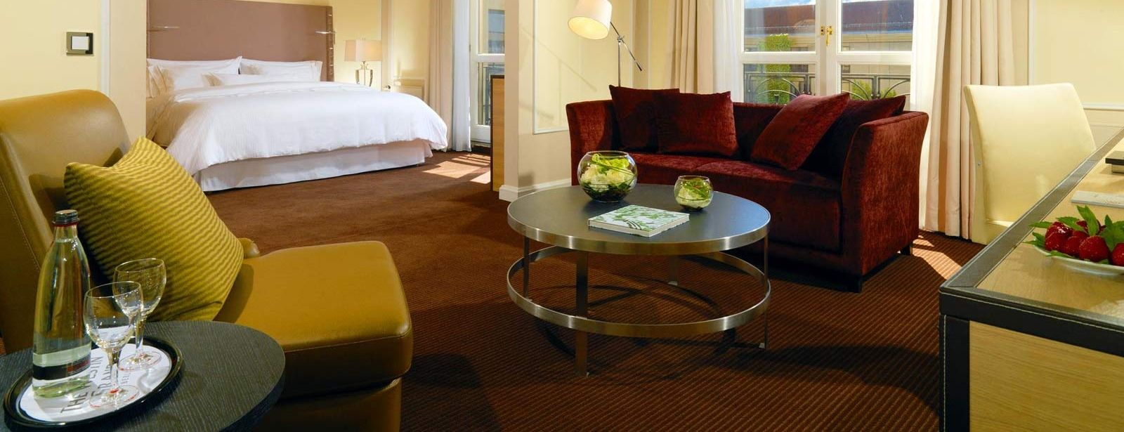 Junior Suite im The Westin Grand Hotel in Berlin