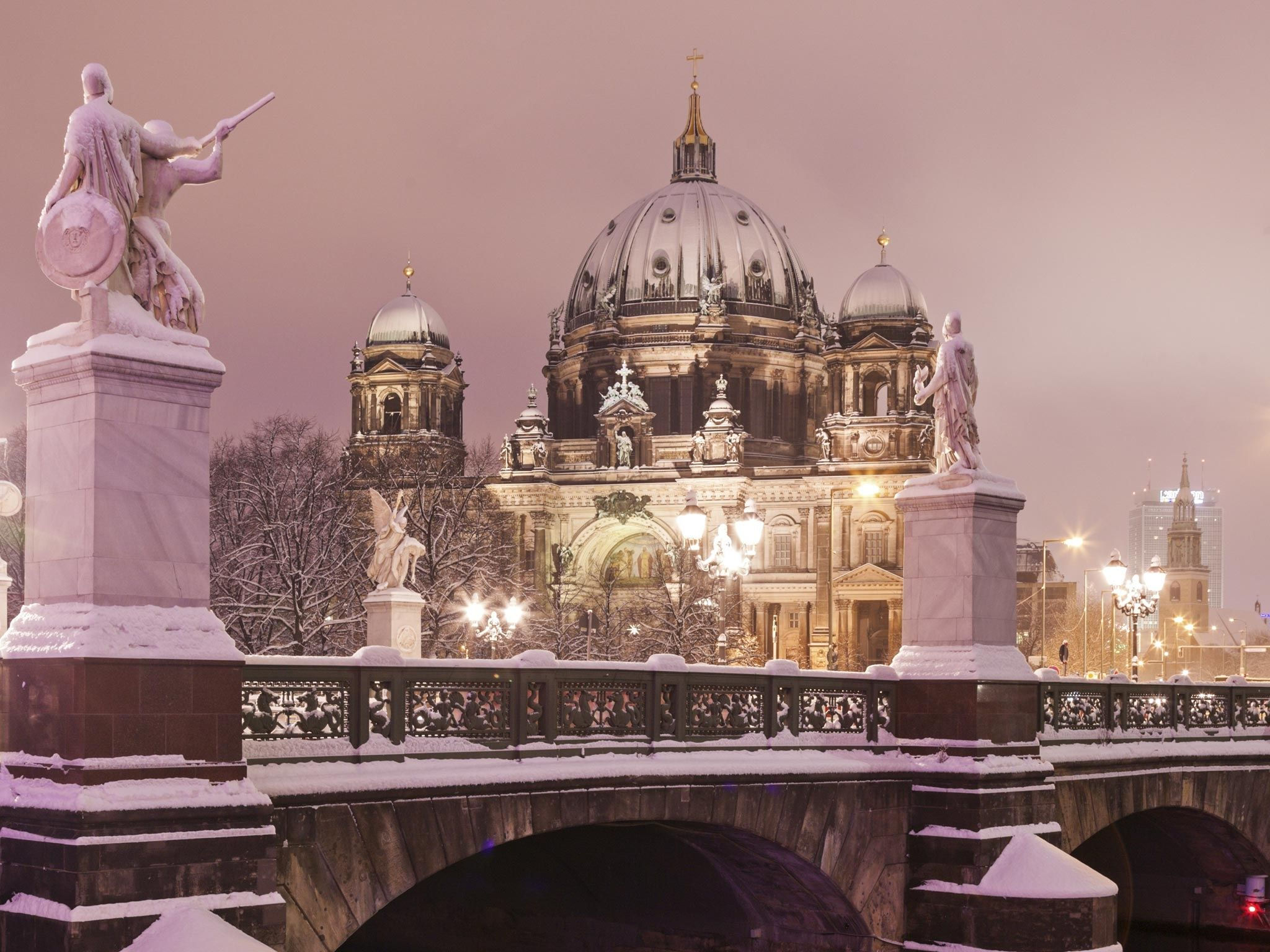 Winter in Berlin - Berliner Dom in der Nähe des The Westin Grand Hotel Berlin