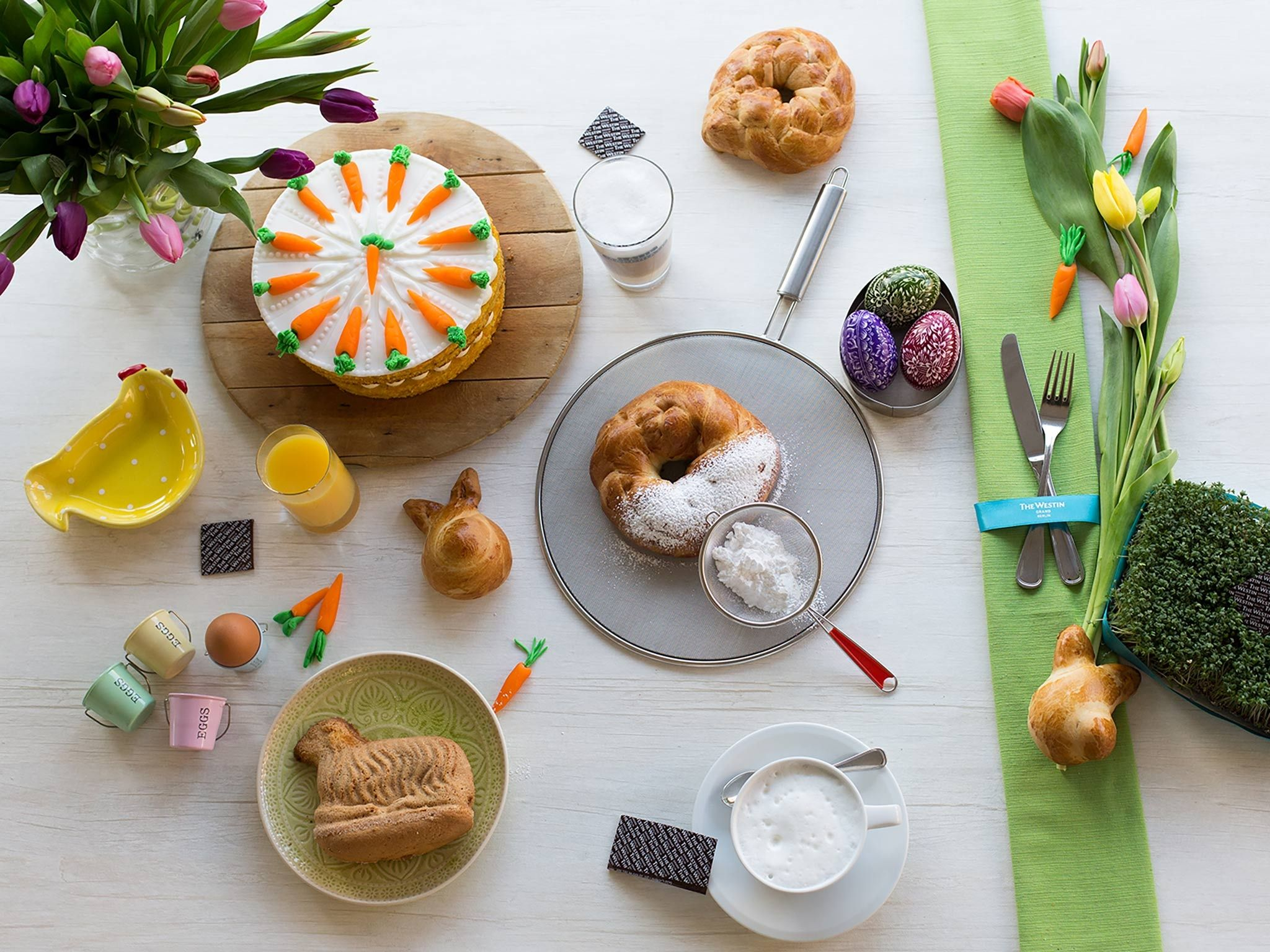 Ostern in Berlin - Osterbrunch im Westin Hotel Berlin