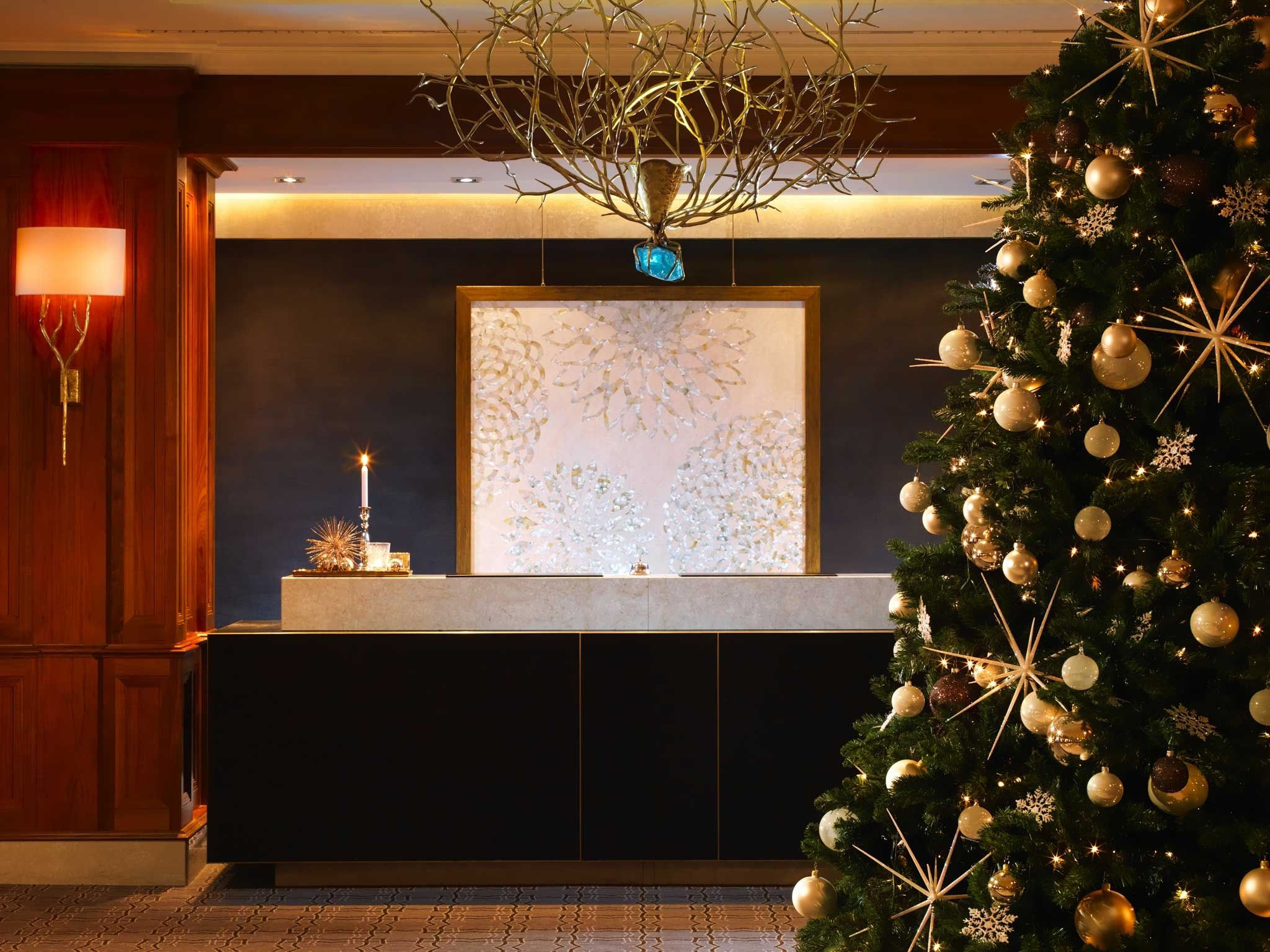 Christmas in Berlin at The Westin Grand hotel in Berlin