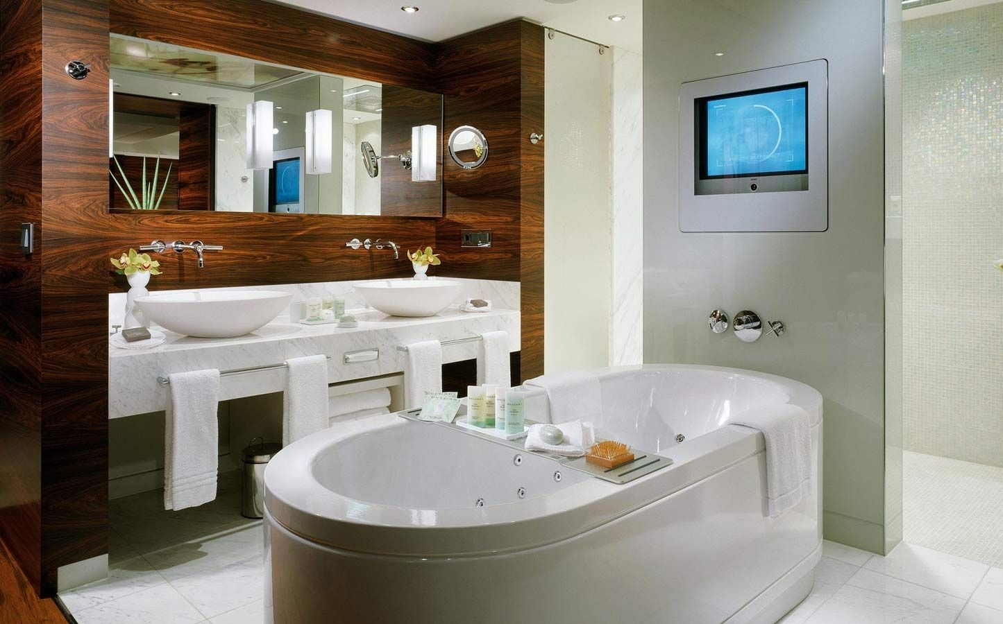 Spa Bathroom Suites The Westin Grand Hotel Berlin Spa Suite